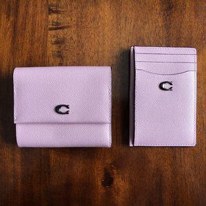 Coach Blossom Small Flap Wallet & Card Holder NWT